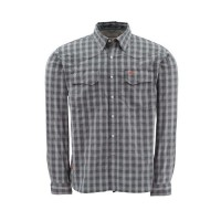 Big Sky Shirt Concrete Plaid XL, Simms