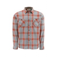 Black's Ford Flannel Shirt Orange L, Simms
