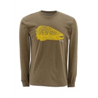 Kype Jaw T-Shirt Long Sleeve XL, Simms