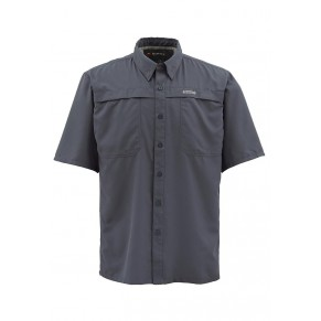 Ebb Tide SS Shirt Nightfall S рубашка Simms - Фото