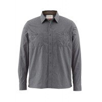 Black's Ford Flannel Solid Nightfall L Simms