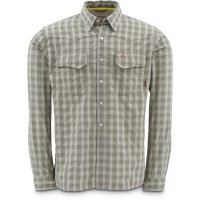 Big Sky Shirt Sagebrush Plaid L Simms
