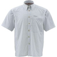 Morada Shirt Ash Grey Plaid M Simms