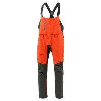 Challenger Bass Bib Fury Orange XXL, Simms