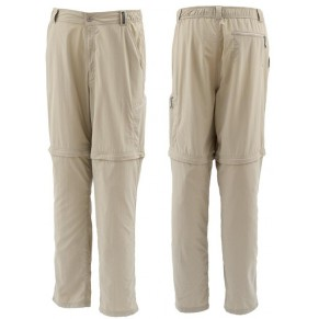 Superlight Zip-Off Pant Cork S Simms - Фото