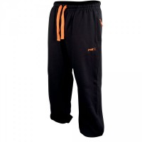 Black/Orange Lightweight Joggers - XXL Fox