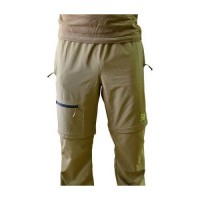 Zip Off Technical Trousers Size S/M Rod Hutchinson