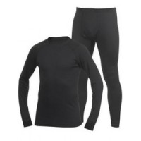 Polartec Power Dry Black XXXL блуза Fahrenheit