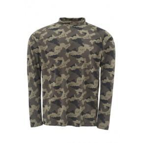 Solarflex LS Shirt Camo M блуза Simms - Фото