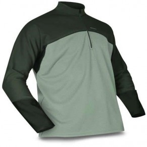 Rivertek MWT Zip Top Lt Green/Coal M Simms - Фото