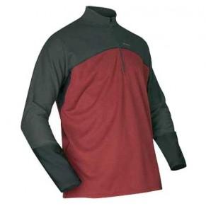 Rivertek Fishing Shirt MWT Zip Top Coal/Red S Simms - Фото