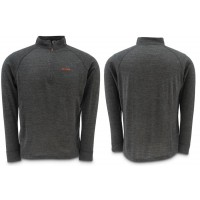 Downunder Merino Mid Zip Top Charcoal XXL Simms