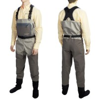 North Fork Breathable Chest Waders L, Allen