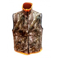 Huntinh Reversable Vest Passion/Orange XXXL Norfin