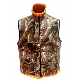 Huntinh Reversable Vest Passion/Orange S Norfin - Фото
