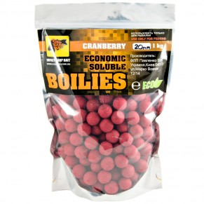 Professional Soluble Cranberry 20мм 1кг, CC Baits - Фото