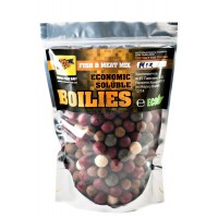 Economic Soluble Fish&Meat Mix 16-24мм 1кг пылящие бойлы CC Baits