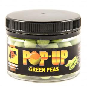 Pop-Ups Green Peas 10мм 50гр бойлы CC Baits - Фото