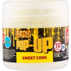 Pop-Up F1 Sweet Corn 10mm 20gr бойлы Brain - Фото