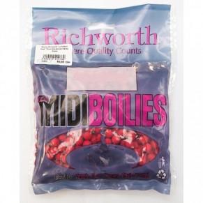 03-15 Strawberry 10mm Midi Boilies Handy Packs 225g бойлы Richworth - Фото