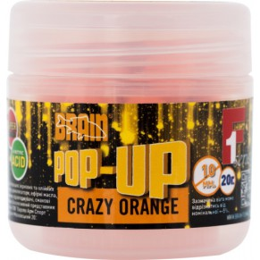 Pop-Up F1 Crazy orange 10mm 20gr Brain - Фото