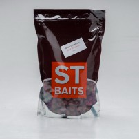 Boilies Squid Octopus/Strawberry 15mm 1kg бойлы ST Baits