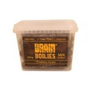 Liver печень 600 gr, mix 16-20 бойлы Brain - Фото