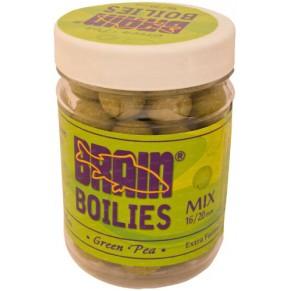 Green Peas Soluble 16mm, 20mm 200gr бойлы Brain - Фото