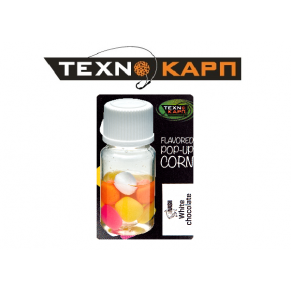 Texno Corn White Chocolate Nash Pop-Up силиконовая кукуруза Texnokarp - Фото