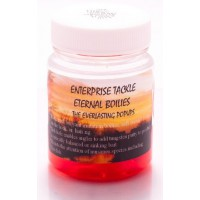 Eternal Boilies In Liquid - Mixed Fluoro Red/Strawberry & Aniseed Enterprise Tackle