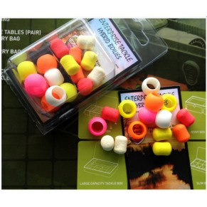Hybrid Boilie Mixed Fluoro & White 15mm New Enterprise Tackle - Фото