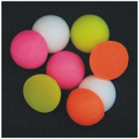 Half Boilie Mixed Fluoro & White 15mm New Enterprise Tackle