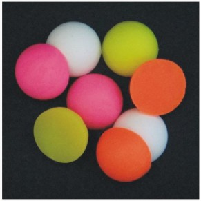 Half Boilie Mixed Fluoro & White 15mm New Enterprise Tackle - Фото