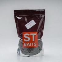 Pre Drilled Halibut Pellets 14mm 1kg ST Baits