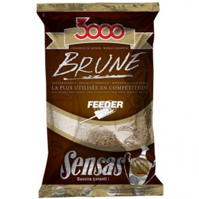 3000 Feeder Brown 1 kg Sensas - Фото