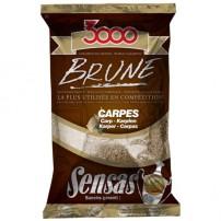 3000 Carp Brown 1 kg Sensas