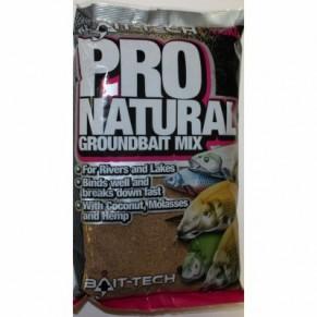 Pro-Natural Groundbait 1,5kg прикормка Bait-Tech - Фото
