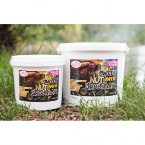 Sweet Nuts Mix groundbait 3kg Dr.Carp - Фото