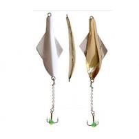 101-3-GS GLIDER тройник-цепочка 10 г, 60мм блесна зимняя верт. Lucky John