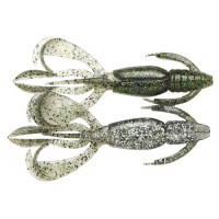 "Crazy Flapper 3,6"" 460 Silver Flash Craw Keitech"