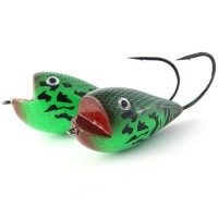 Flog F-7 50mm 7g, Green Bumble Lure