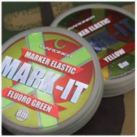 Marker Elastic 8m Fluoro Yellow New маркерная резина Gardner