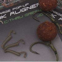 Covert Pop-Up Hook Aligner (Extra Large) C-Thru Green (5) Gardner