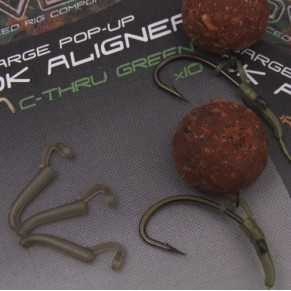 Covert Pop-Up Hook Aligner (Extra Large) C-Thru Brown (5) оснастка Gardner - Фото