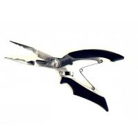 Плоскогубцы с резцами Split ring и обжимание трубочек 160мм Super Tool