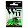 Worm 11 Tournament 4, 9шт крючок Decoy