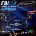 Illuminated FBI (Futuristic Bite Indicator) Red механический индикатор поклевки Fun Fishing