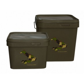 New Square Bucket 10ltr, Avid Carp - Фото