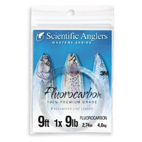 Fluorocarbon Leader 9ft 12lb, Scientific Anglers - Фото