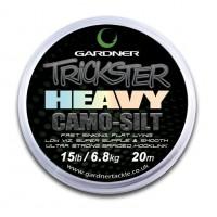 Trickster Heavy Camo Silt 15lb (6.8kg) поводочный материал Gardner